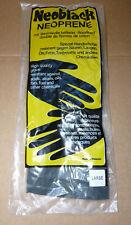 Handschuhe Neopren Gr. L Schutzhandschuhe Chemikalien Säure Laugen Bakterien NEU