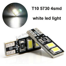 100Pcs Super Bright T10 4SMD 5730 LED White Car LED Wedge Light Bulb 194 168 W5W