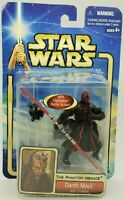 Hasbro 2002 Star Wars The Phantom Menace Darth Maul Sith Training Battle Action