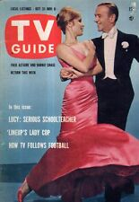 1959 TV Guide October 31 - Lucy; Rawhide; Gene Kelly, Fred Astaire;William T Orr