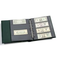 High Quality Certified Graded Banknotes Album for 40 PCGS PMG World USA Currency