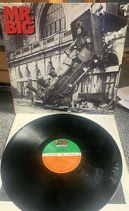 Mr Big - Lean Into It (1991) Original Vinyl Record  Ex+VG+