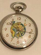 MOLNIJA 3602 Pocket Watch Zodiac Signs Sagittarius Handpainted Russia RARE