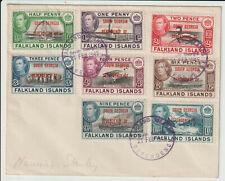 """FALKLAND ISLANDS - """"SOUTH GEORGIA"""" 1945 GVI COVER"""