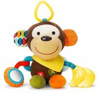 Skip Hop BANDANA BUDDIES ACTIVITY TOY - MONKEY Baby Toys Activities BN