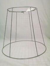 VINTAGE WIRE FRAME LAMP SHADE, LAMP SHADE MAKING, RESTORATION OR REPAIR 17072801