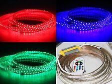 5-30m STRISCIA LED RGB STRIP BARRE con FB controller OUTDOOR RESISTENTE ALL'ACQU...