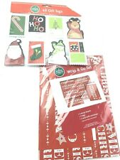 *Winter Wonder Lane Gift Wrap Lot Christmas Gift Tags Wrap Sheets Nip