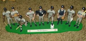 1989 NEW YORK YANKEES Opened TEAM LINEUP mint condition #5189 Sax Santana Candy