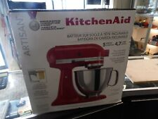 KitchenAid Artisan Series 5 Quart Tilt-Head Stand Mixer - Empire Red New In Box