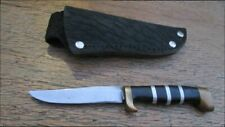 Hand-forged Custom Vintage Sm. Carbon Steel Caping/Hunting Knife - RAZOR SHARP
