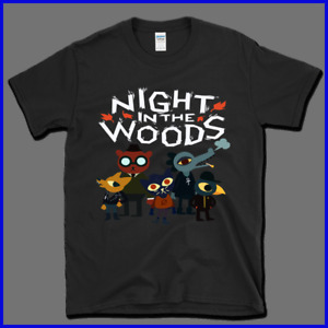 NEW Rare !! Night In The Woods Z T-Shirt Gildan Size S To 2XL five color choices