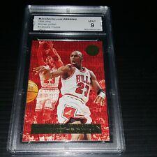 1995 ULTRA Michael Jordan Double Trouble Insert #3 Graded MINT 9 The G O A T