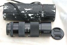 Tamron Adaptall-2 SP 70-210mm f3.5-4 52A, VGC, case,  caps. Macro 1:2 @ 210mm