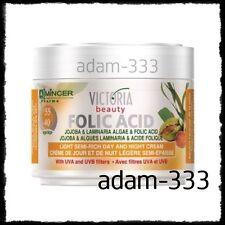 Anti Wrinkle Face Cream Folic Acid Vitamin C Jojoba Laminaria Algae Day & Night