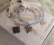 Authentic Alex and Ani Harry Potter Expecto Patronum Set of 3 Charm Bracelets