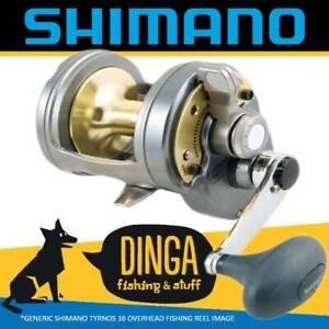 Shimano Tyrnos 16 Overhead Lever Drag Fishing Reel
