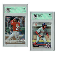 Juan Soto 2018 Topps Now & 2017 Bowman Rookie Card 2-Pack PGI 10