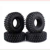"""114mm 1.9"""" Rubber Tires For RC 1/10 Truck Axial D90 SCX10 Rock Crawler Wheels"""