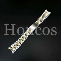 20MM GOLD/SS TWO TONE JUBILEE WATCH REPLACEMENT BAND BRACELET FIT ROLEX TUDOR