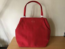 ESCADA Bolso de Mujer - Women Bag - Red Rojo - 28 cm x 15 cm x 30 cm
