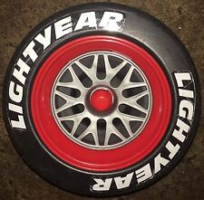 Genuine Used Lightning McQueen X4 Wheels For Ride On Car Only