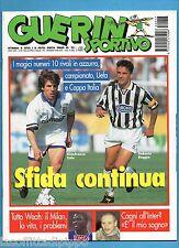 GUERIN SPORTIVO-1995 n.17- ZOLA/BAGGIO-WEAH-CAGNI -NO FILM