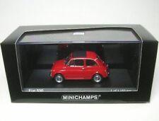 Fiat 500 (rosso medio) 1965