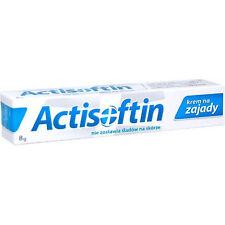 ACTISOFTIN krem na zajady, regeneruje pęknięte kąciki ust, łagodzi podrażnienia