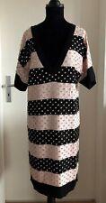 Designer Strickkleid von Sonia Rykiel für H&M mit Straßsteinen Gr. S