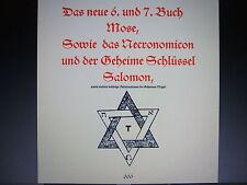 Das 6. und 7. Buch Mose ★ PDF Datei ★Das Necronomicon★ Geheime Schlüssel Salomon