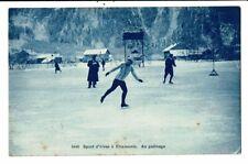 CPA-Carte Postale France-Chamonix- Patinage  VM11158
