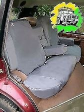 Land Rover Freelander 1 W//Proof  Front Seat Covers  DA2811Black