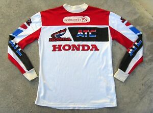 Vtg 80's HONDA ATC Jersey  Motocross  XL Simi Wear