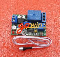 5V 12V 24V DC Sound Sensor, Light Control Adjustable Delay Relay Switch Module