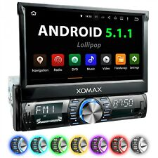 AUTORADIO AVEC ANDROID 5.1.1 NAVI GPS WIFI TOUCHSCREEN USB SD BLUETOOTH 1DIN