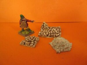 Unknown Warhammer metal Undead Scenery Skulls Bases