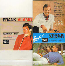 FRANK ALAMO LOT DE 3 X CD EP'S BARCLAY - RIVIERA