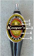 Custom Personalized  Beer Tap Handle knob tapper Kegerator Man Cave mancave sign