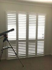 Custom Made Timber Plantation Shutters Includes Framing Hinged Internal Windows