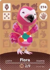 Flora NFC Amiibo Card Animal Crossing
