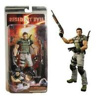 "7"" Action Figure Video Game Capcom Toy 19 Resident Evil Series 1 Chris Redfield"