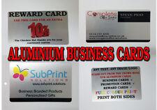 Aluminium Metal Business Cards,Promotional,Reward,Loyalty,ID Card,