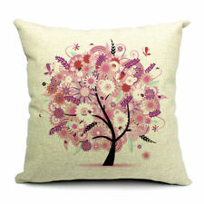 Country Floral Decorative Box Cushion Covers