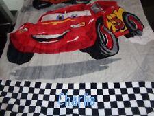 Pottery Barn Kids Disney Pixar Icon Cars Mini Beach Towel mono Charlie 25 50 New