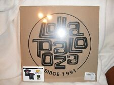 LOLLAPALOOZA 1991 Box Set with T-shirt (XL), 4 buttons, etc. New in Box