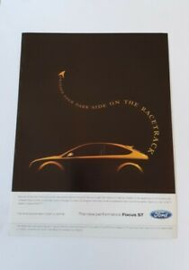 Ford Focus ST Advert from 2006 - Original Ad Advertisement