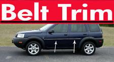 For Land Rover FREELANDER Chrome Body Side Molding Trim Kit 1996-2006