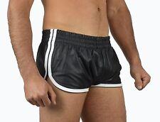 AW-5400 Ledershorts lammnapa,Leather Boxer Shorts,Sports leder shorts,Kurze Hose
