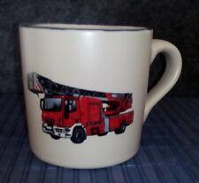 T049-CK - Tasse mit Motiv - Feuerwehrauto (1) - mit Wunschname